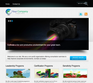 Lite 2 Website Example